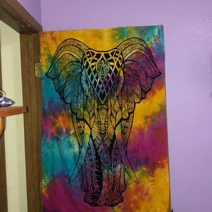 Elephant tapestry🐘